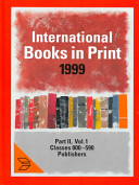 International Books In Print 1999