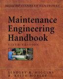 MAINTENANCE ENGINEERING HB, 6/E