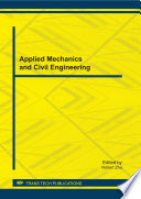 Applied Mechanics and Civil Engineering