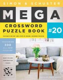 Simon   Schuster Mega Crossword Puzzle Book  20