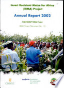 Insect Resistant Maize For Africa Irma Project Annual Report 2002 Book PDF