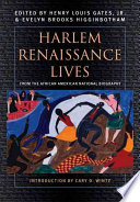 Harlem Renaissance Lives From The African American National Biography
