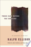 Three Days Before the Shooting       Book