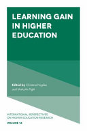 Pdf Learning Gain in Higher Education Telecharger