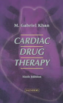 Cardiac Drug Therapy Book