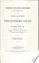 United States Reports Book PDF
