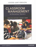 Classroom Management for Elementary Teachers with Myeducationlab with Enhanced Pearson Etext  Loose Leaf Version    Access Card Package