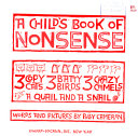A Child s Book of Nonsense  3 Copycats  3 Batty Birds  3 Crazy Camels  a Quail  and a Snail