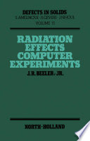 Radiation Effects Computer Experiments