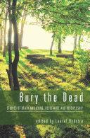 Pdf Bury the Dead