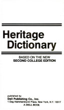 American Heritage Second College Dictionary