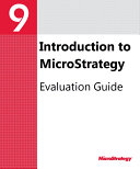 Evaluation Guide  Windows  for MicroStrategy