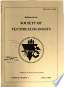 Bulletin of the Society of Vector Ecologists