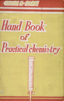 Hand Book of Practical chemistry