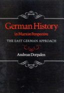 German History in Marxist Perspective