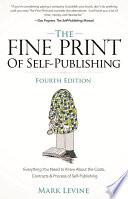 The Fine Print of Self Publishing