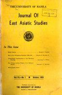 University Of Manila Journal Of East Asiatic Studies