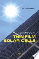 Advances In Thin Film Solar Cells Book PDF