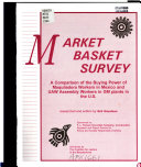 Market Basket Survey