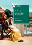 Pdf The Transatlantic Circulation of Novels Between Europe and Brazil, 1789-1914 Telecharger