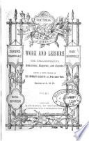 Work and Leisure  the Englishwoman s Advertiser  Reporter and Gazette Book