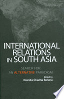 International Relations In South Asia