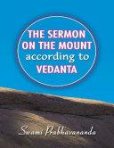 The Sermon On the Mount According to Vedanta