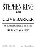 Pdf Stephen King and Clive Barker