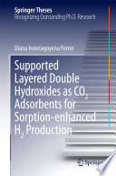 Supported Layered Double Hydroxides as CO2 Adsorbents for Sorption enhanced H2 Production