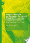 Human Development and Community Engagement through Service-Learning