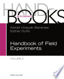 """Handbook of Field Experiments"" by Esther Duflo, Abhijit Banerjee"