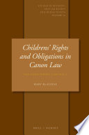 Childrens  Rights and Obligations in Canon Law