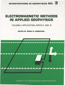 Electromagnetic Methods in Applied Geophysics