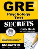 GRE Psychology Test Secrets Study Guide