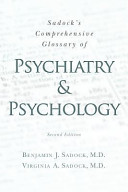 Sadock s Comprehensive Glossary of Psychiatry and Psychology