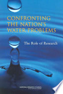 Confronting The Nation S Water Problems
