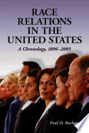 Race Relations in the United States Book