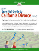 Nolo's Essential Guide to California Divorce (2014)