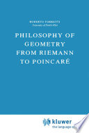 Philosophy of Geometry from Riemann to Poincar