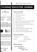 Michigan Education Journal