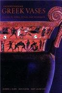 Pdf Understanding Greek Vases