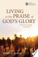 Living To The Praise Of God S Glory