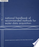 National Handbook of Recommended Methods for Water data Acquisition