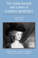 The Early Journals and Letters of Fanny Burney: Volume V, 1782-1783 Pdf/ePub eBook