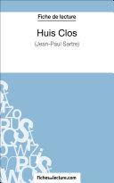 Pdf Huis Clos de Jean-Paul Sartre (Fiche de lecture) Telecharger
