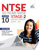 NTSE 10 Year wise Class 10 Stage 2 Solved Papers  2010   19