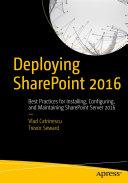 Deploying SharePoint 2016