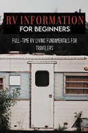 RV Information For Beginners