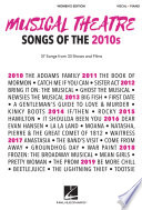 Musical Theatre Songs of the 2010s  Women s Edition