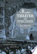 Music, Theater, and Cultural Transfer Pdf/ePub eBook